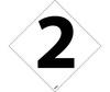 Number Labels, 2, Vinyl