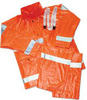 Tingley Comfort-Brite® O53129 Reusable Fluorescent Orange/Red Overalls