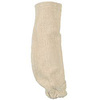 Sleeve, Terry Cloth, White, 18 in, Universal