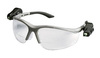 Light Vision, Magnifying Safety Glass, Polycarbonate, Clear, Anti-Fog, Half-Frame, Gray