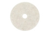 Buffing and Polishing Pad, 17 in, White, 1500 to 3000 RPM