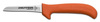 Deboning Knife, Clip Point / Slant Point, Ergonomic, Sharped, 5 in, 8-3/4 in, Slip-Resistant, Orange, 12 per Box, Re-Sharpenable Blade, 3-3/4 in