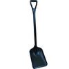 "Remco® 6896BKSS Safety Shovel With 10"" Blade, D-Grip, Black"