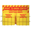 SDS Right-To-Know Compliance Center 2 Racks Without Binder