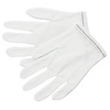 MCR Safety 8700 White Low-Lint Nylon Inspector Gloves