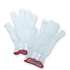 Sperian®, Cut-Resistant Gloves, Three Strands Stainless Steel Core / Filament Fiber Wrap, White, 7 ga, ANSI Cut Level 5, Extended