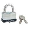 MasterLock 500KABRK229 Warded Padlock Laminated Steel Keyed Alike