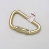 Honeywell 17-D1 Twist Lock Carabiner, 400 lb Capacity