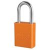 American Lock®, Safety Lockout Padlock, Aluminum, Orange, Keyed Alike