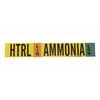 Brady 90449 AMMONIA HTRL Vinyl Adhesive Backed Labels