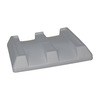 Snyder Ind. MB2900D Bonar Plastics MonsterCombo Bin Dust Cover, Gray