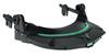 MSA Safety 10115730 V-Gard HDPE Helmet Frame for Slotted Caps Black
