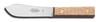 Sheath Knife, 4-1/2 in, 3-3/4 in, High Carbon Steel, Hardwood, 9-1/4 in, Brown, Honed