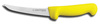 Sani-Safe®, Boning Knife, Flexible|Curved, High Carbon Steel, Polypropylene, Textured, Polished, Sharped, 5 in, 11 in, Slip-Resistant, Lime Light Green, Stain-Free Blade, 6 in