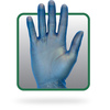 Safety Zone® GVP9 Blue Vinyl Disposable Glove Powder and Latex Free