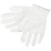 MCR Safety 8600 White Poly Blend Reversible Inspector Gloves