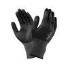 Ansell® HyFlex® 11-840 Black Nylon General Purpose Gloves