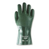 Snorkel®, Chemical-Resistant Gloves, Green, PVC, 12 in, Gauntlet, Knit
