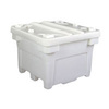 Poly Combo Bin Bulk Container with Lid No Drain Series 3000