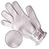 SURVIVOR, Cut-Resistant Gloves, Stainless Steel / Yarn, White, 7 ga, ANSI Cut Level 5, Standard