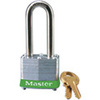 MasterLock 3KALHGRN Safety Lockout Padlock Steel Green Keyed Alike