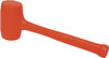 Compo-Cast®, Soft-Face Hammer, 52 oz, Steel, Steel, 15-1/4 in, 5-1/2 in, Reinforced, 2-13/16 in, Anit-Vibration, Prevent Marring, Non-Sparking, Not-Absorb Liquids