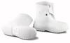 Dunlop 81020 PVC White Plain Toe Overshoes