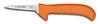 Deboning Knife, Clip Point / Slant Point, Ergonomic, Sharped, 5 in, 8-1/4 in, Slip-Resistant, Orange, USDA Approved, Re-Sharpenable Blade, 3-1/4 in