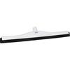 "Vikan® 77545WB White Fixed Head Foam Double Blade Squeegee, 24"""