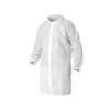 Kleenguard® A10, Lab Coat, Spun Bond Polypropylene, White, Snap, 2X-Large