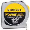Stanley® Powerlock® Tape Measure, Engineers Scale