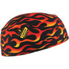 Chill-Its® 6630 Absorbent Terrycloth Cooling Cap, Flames