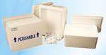 Foam Cooler, EPS Foam, 12 x 12 x 12-1/4 in, Corrugated Box, 30.6 qt