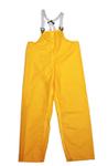 Rain Bib Trouser, Polyurethane on Nylon, Orange, Snap