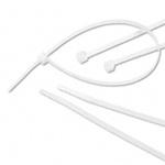 Cable Tie, Standard, Nylon 6/6, Natural, 7.5 in, 0.177 in, 0.05 in, 7.5 x 0.177 x 0.05 in, 1-3/4 in, -40 to +185 °F, 50 lbs, UL 94 V2, MS-3367-1-9, 100 per Bag, 1000 per Case, High Impact, Non-Corrosive
