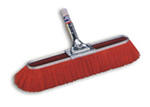 Sweep Brush, Synthetic, 23 in, Red
