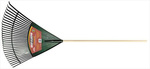 TRUETEMPER®, Leaf Rake, Polypropylene, North American Ash, 48 in