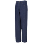 Jeans Pant, Cotton Denim, Navy Blue, Zipper