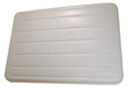 Super Large Poly Tray, Full, Plastic, 36 in, 25 in, White