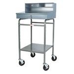 Win-Holt RDMWNSS-3 Mobile Receiving Desk, Stainless Steel