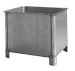 Curing Vat, 51 L x 39 W x 43 H in, Stainless Steel