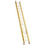 24 Foot Fiberglass Extension Ladder Bauer 31024 Heavy-Duty