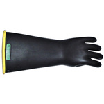 Insulating Gloves, Natural Latex Rubber, Class 1