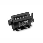 Durant® Mechanical Stroke Counter 4-X-2 Black With Push Bar