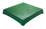 "Gatorgrate® WS-P24242GN Green Work Stand 24"" x 24"" x 2"""