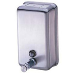 Impact Products 4040 Stainless Steel Soap Dispenser Vertical 40 oz.
