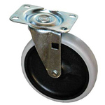 SpecialMade®, 5 in Swivel Caster with Gray Tread