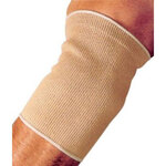 Elbow Support, Knitted Elastic, Ambidextrous, Beige, Large