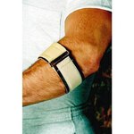 Elbow Support, Vinyl, Ambidextrous, Brown, Universal