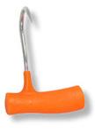 "Ronin Left Hand Plastic Anti-Microbial Orange Handle Boning Hook 5.5"""
